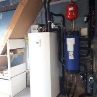 Pompe à chaleur garage - Ruisseau Chauffage