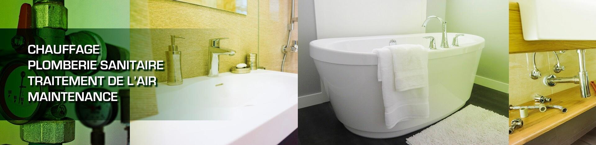 Image sanitaire salle de bain - Ruisseau Chauffage